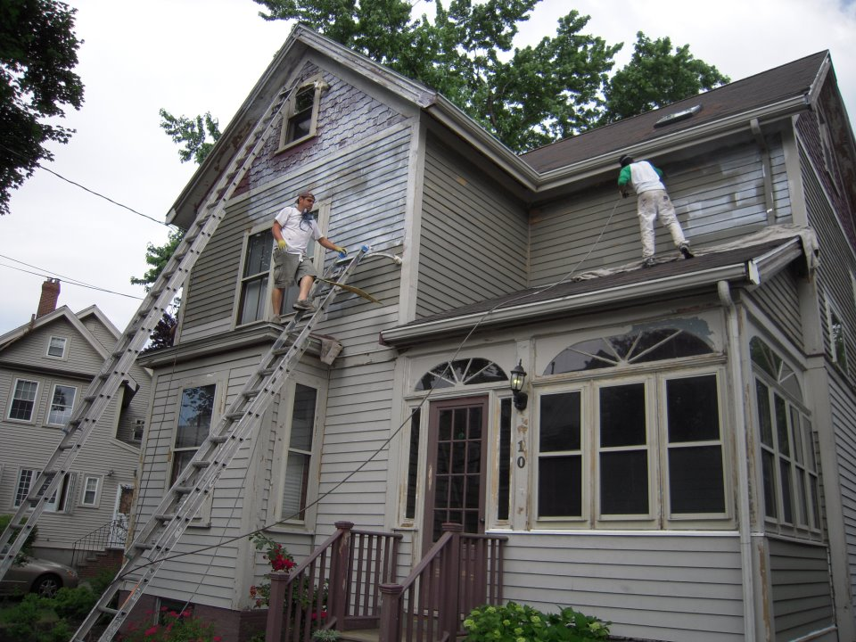 Exterior House Painting Before 10 Wyman Arlington Part 97